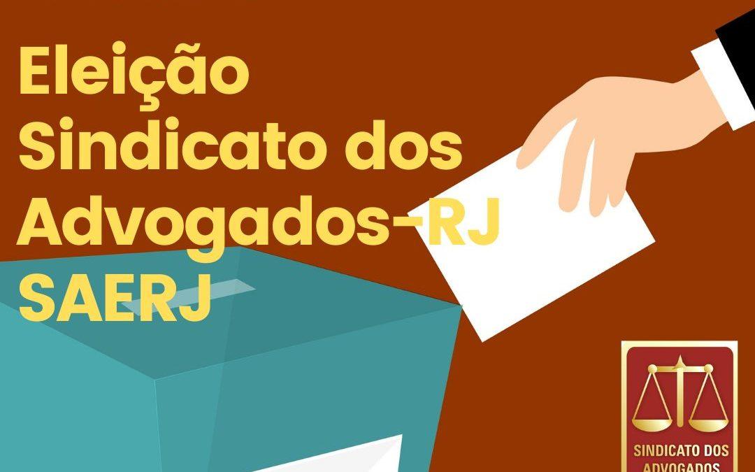 PUBLICADO NO JORNAL 'O DIA' O REGISTRO DA CHAPA INSCRITA PARA A ELEIÇÃO DA NOVA DIRETORIA DO SAERJ
