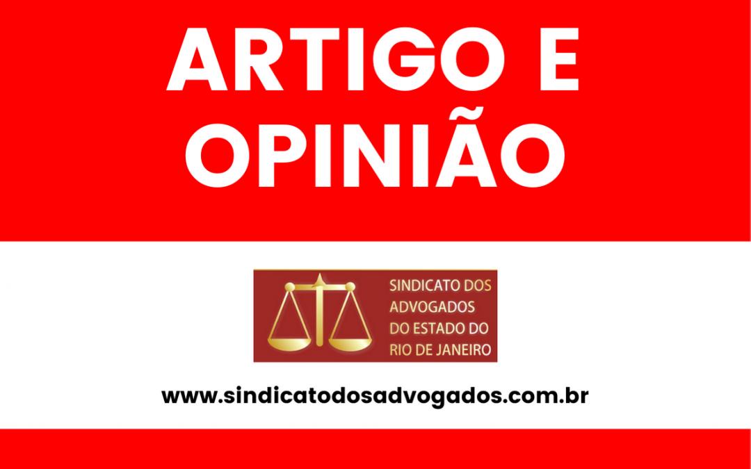 ARTIGO CRITICA A CRIAÇÃO DE CURSO TÉCNICO EM SERVIÇOS JURÍDICOS